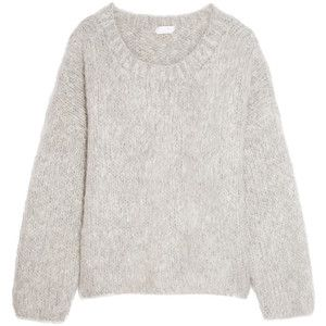 Chloé Oversized mohair, wool and cashmere-blend sweater