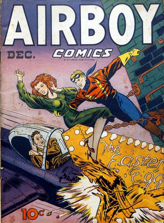 Comic Book Cover For Airboy Comics v3 11 [34] - Version 1