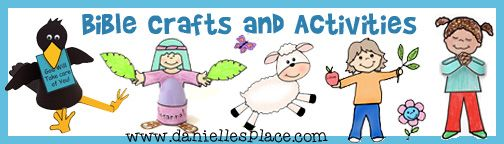 Bible Crafts and Activities for Sunday School Index from www.daniellesplace.com