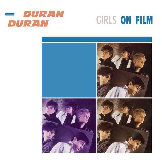 Duran Duran – Girls on Film (single cover art)