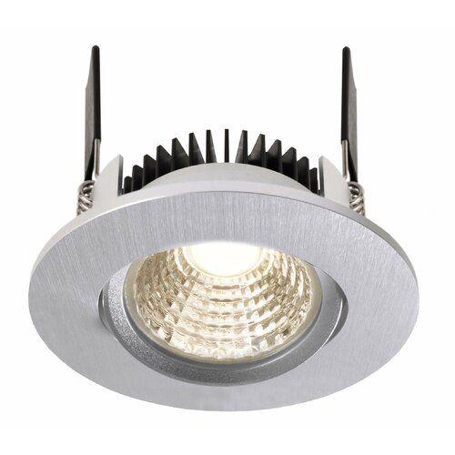 Cob 1 Light Led Slim Profile Recessed Lighting Kit Deko Light Colour Nickel Colour Tempe Recessed Lighting Kits Recessed Lighting Led Recessed Ceiling Lights