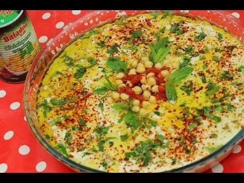 حمص بطحينه وزبادي فته حمص مع رباح محمد الحلقة 638 Youtube Cooking Recipes Food Cooking