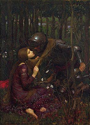La Belle Dame Sans Merci  1893 John William Waterhouse