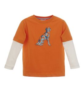 Love this cute everyday shirt my son could wear to school. Love the double shirt look. #MyHartstrings