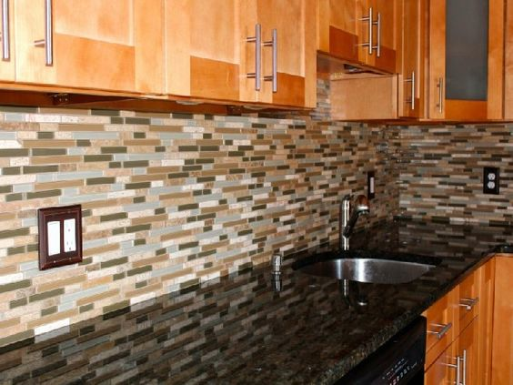 Backsplash Ideas For Knotty Pine Cabinets Kitchen