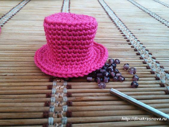 Шляпа цилиндр своими руками мастер класс  #10
