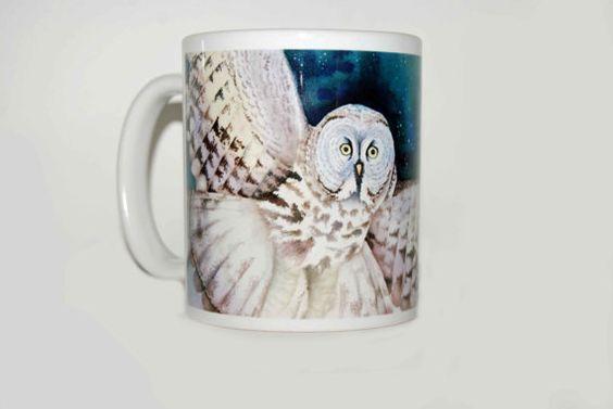 Bethany's Owl on a mug! :)