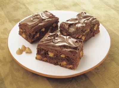 Irresistible Peanut Butter Chip Brownies