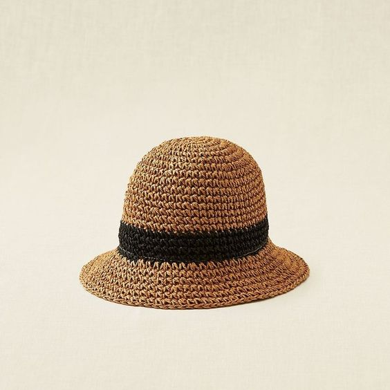 Aerie mini floppy hat 20 liked on polyvore featuring for Fishing straw hat