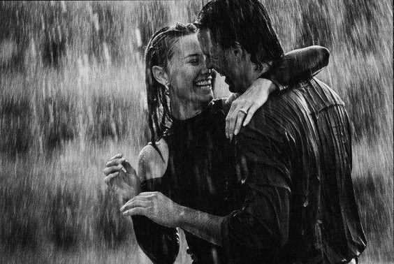 ... in the rain