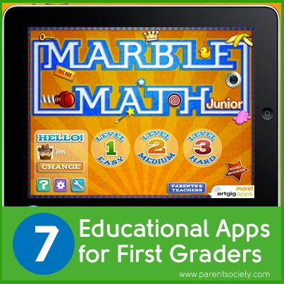 7 Educational Apps for First Graders