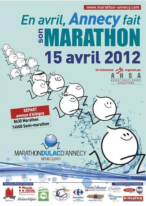 L'autre marathon : Annecy 2012 - http://bit.ly/marathon-annecy-locita