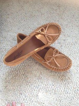 Lucky Brand Leather Tuscany Brown Flats