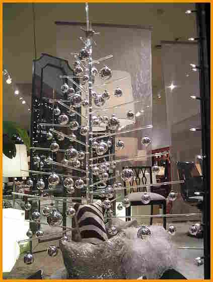 Image result for contemporary christmas decorations
