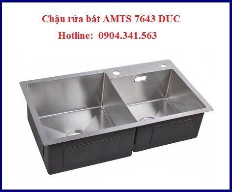 Những mẫu chậu rửa bát AMTS bán chạy nhất