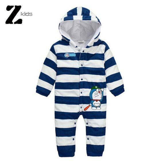 Otoño invierno recién nacido Carters mamelucos del bebé ropa del muchacho del bebé Bebes traje de