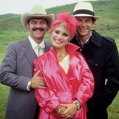 ROQUE SANTEIRO  - 1985-1986 - LIMA DUARTE-sinhozinho malta + REGINA DUARTE -viuva porcina+ JOSE WILKER-roque: