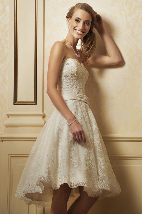 Krótkie suknie ślubne #wedding