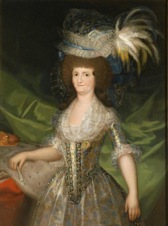 GOYA, Mª Luisa de Parma, 1790, Museo del Prado. (1751-1819), casada con Carlos IV, madre de Fernando VII.