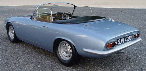 Lotus Elan (Model of Emma Peel's car from The Avengers) DiamondCars