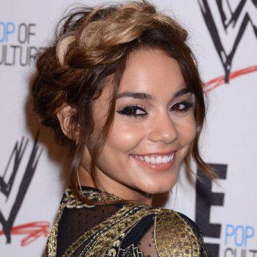 Vanessa Hudgens, à l'occasion dun gala de charité organisé par E! et la WWE à Bervely Hills
