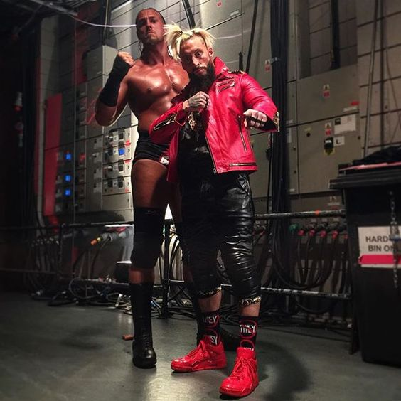#WWE's @wweaallday21 and @bigcasswwe advance to the finals! #RAW