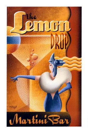 Lemon Drop Martini poster