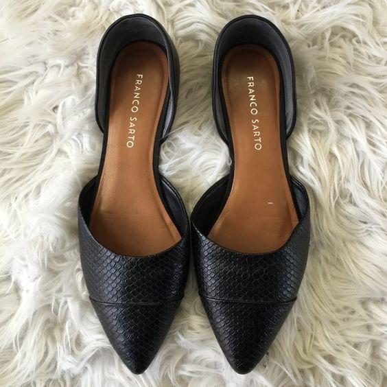 Franco Sarto flats Perfect condition! No flaws. Size 7M Franco Sarto Shoes Flats & Loafers
