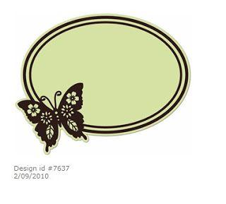 Silhouettemania: Tarjeta de las mariposas - Plumas Silueta