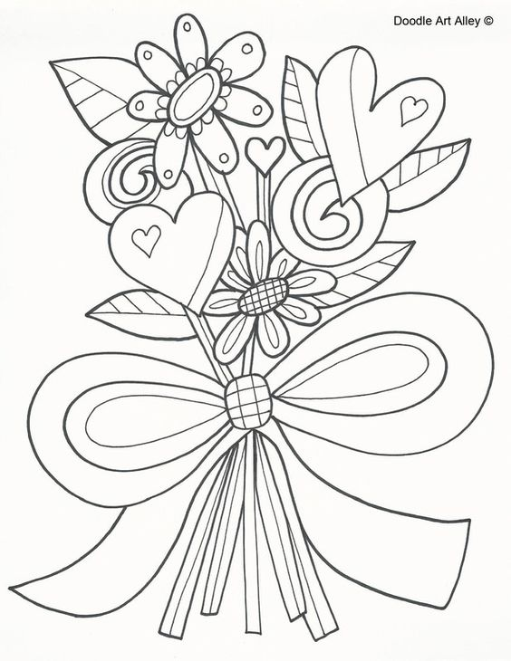 Https Bsaffunktaking Blogspot Com 2019 04 Anniversary Coloring Pages Doodle Art Htm Mothers Day Coloring Pages Valentine Coloring Pages Flower Coloring Pages