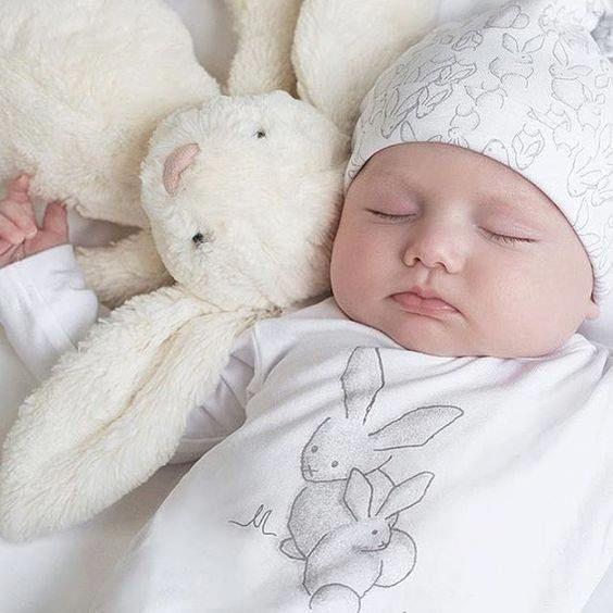 Super Soft Lovely Large Long Earrs Rabbit Bunny Soft Plush Sleep