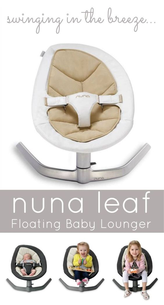 Make the most of your money with baby gear that lasts more than a few months. The @Noon . USA Leaf sways back and forth like a leaf and holds up to 130 pounds.