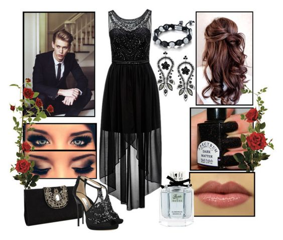 """""""PROM!"""" by annabella-23 ❤ liked on Polyvore featuring Forever New, Topshop, Monsoon, Bottega Veneta, SHIMLA and Gucci"""