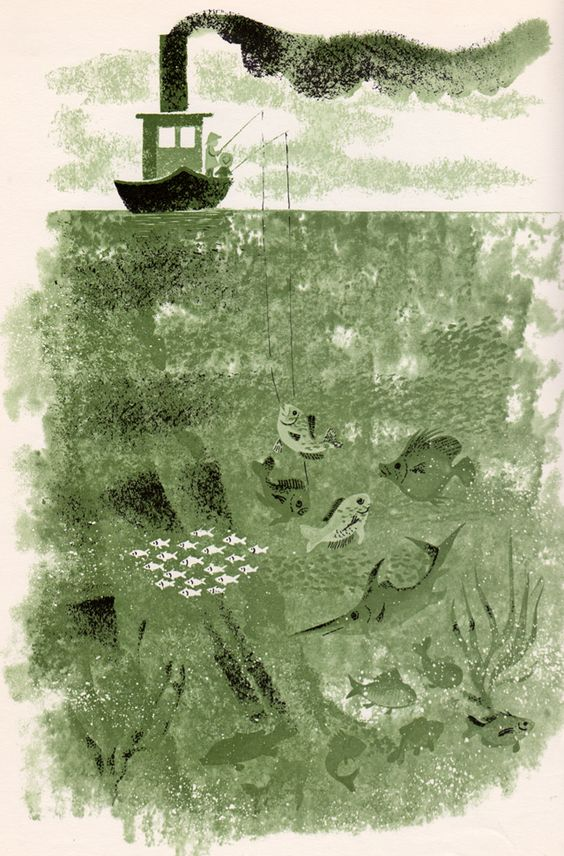 Nibble Nibble: Poems for Children - SOLD - by Margaret Wise Brown, illustrated by Leonard Weisgard (1959).
