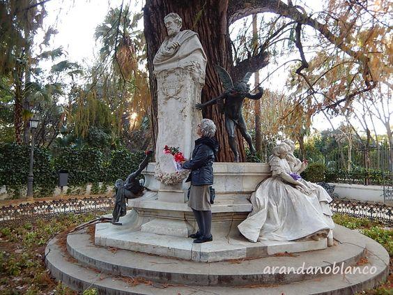 """Plataforma Ciudadana Parques y Jardines Sevilla: Aniversario """"Gustavo Adolfo Bécquer"""""""