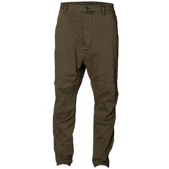 Earl Pants ($85) ❤ liked on Polyvore featuring pants, trousers, men, pantaloni, button fly pants, allsaints, military pants, military style pants and brown pants