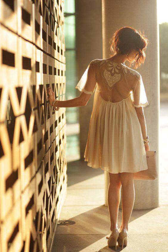 ASOS dress & Valentino Shoes