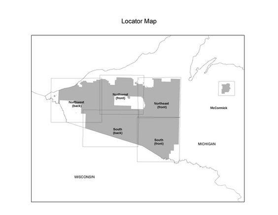 Ottawa National Forest Map