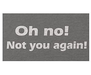 Capacho Not You Again - 40x60cm
