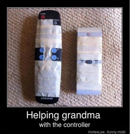 Teaching Dementia Care Shows How To Adapt A Tv Remote Elderlycaredementia Bones Funny Make Me Laugh Laugh