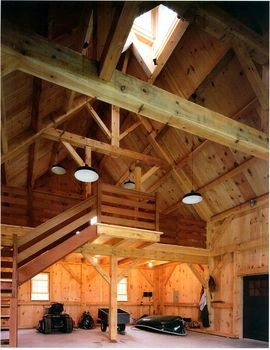 Interior Barn 40 X 60 Barns Pinterest Interiors