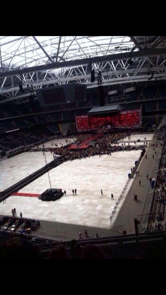 The stadium earlier this morning (6/13/14)