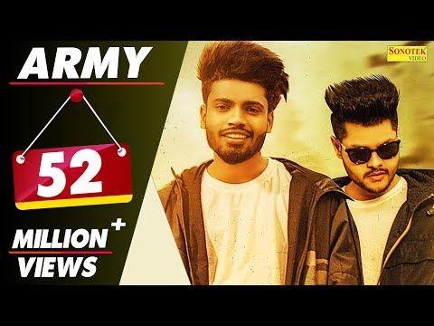 Sumit Goswami Army Gangwar 2 Shanky Goswami New Haryanvi Songs Haryanavi 2019 Sonotek Youtube In 2020 Songs Music Labels Army