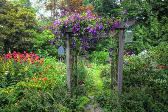 How to Build Garden Arbors Cheaply