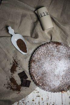 Schokoladen-Tarte, Schokolade, Backen, Dessert, chocolate tarte, chocolate, baking, dessert