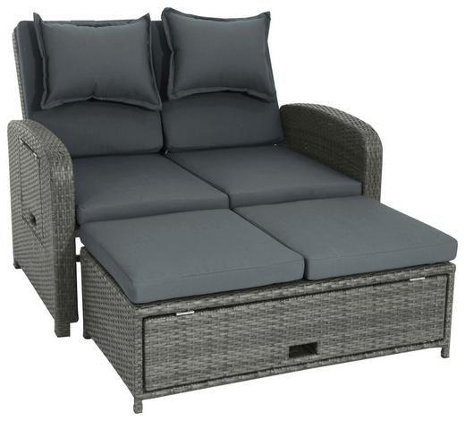 Loungesofa Kunststoffgeflecht Stahl Lounge Mobel Sofa Lounge