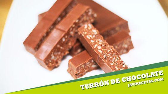 Ayer avisé de que hoy tocaba Turrón de Chocolate Crujiente y ya está aquí la receta. Si te gusta el vídeo compártelo ;)