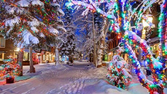 These 5 small towns in Colorado turn magical during the holidays. Aspen, Colorado. Georgetown, Colorado. Vail, Colorado. Durango, Colorado. Crested Bu...