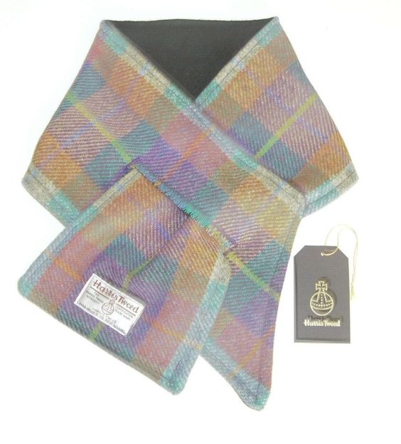harris tweed scarf whool things scarfs