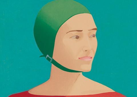 To see alex katz in boston fine art colors and museums for Katz fine art
